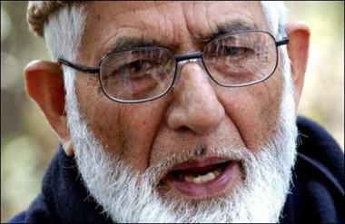 OSJK: APHC dondemns illegal case against Geelani