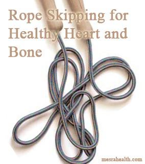 rope skipping health Rope Skipping for Healthy Heart and Bone