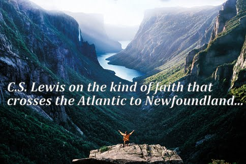 C.S. Lewis Newfoundland faith