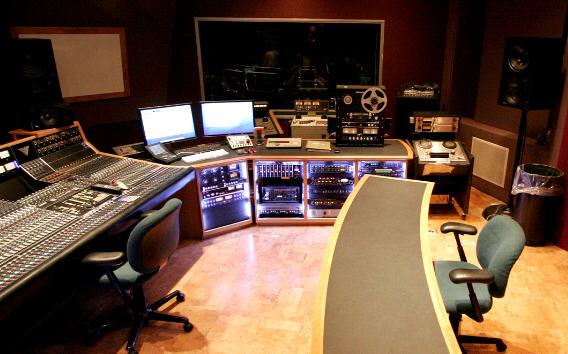 recording studios tracking mastering 2011