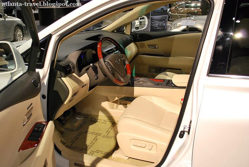 Гибридный Лексус RX 450h 2011
