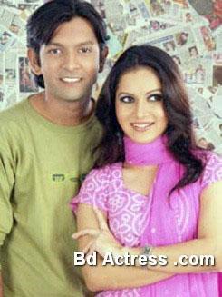 Bangladeshi Model Mithila and Tahasan