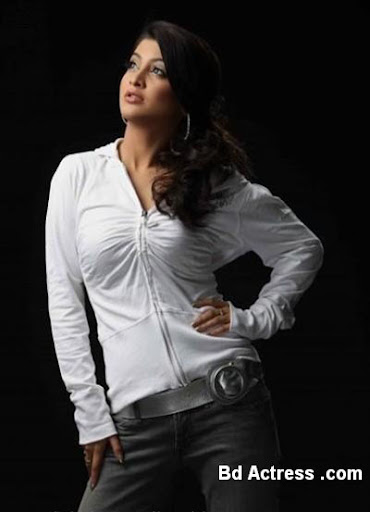 Bangladeshi Model Sarika white wear