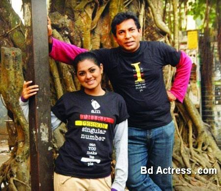 Bangladeshi Model Tisha black wear