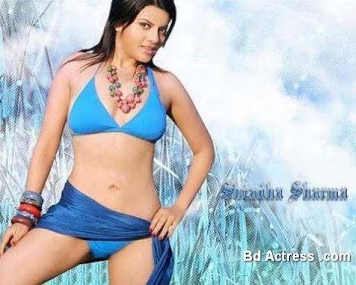 Indian Model Shardha Sharma smile