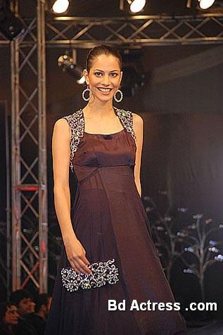 Pakistani Model Cybil smile