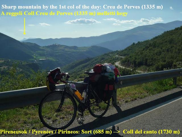 Pyrenées bicycletour, Pireneusok bringatúra :  Coll de canto - Györgyi Gábor 2010