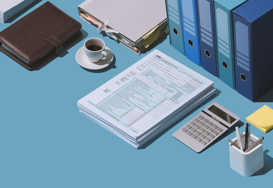 Organized tax documents and financial records are vital to ensuring a smooth tax season
