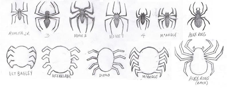 Spiderman Logos - The Superhero Costuming Forum