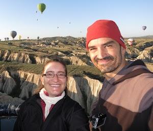 Bruno & I in Cappadocia