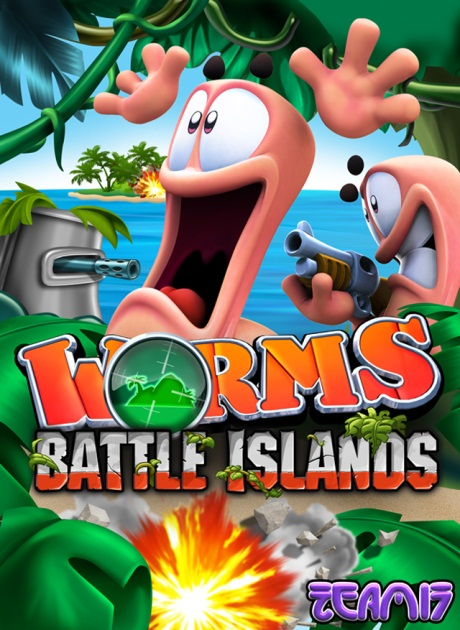 Worms: Battle Islands (2010/ENG/PSP)