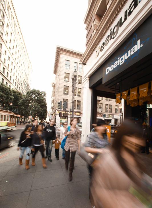 desigual - san francisco store opening ad
