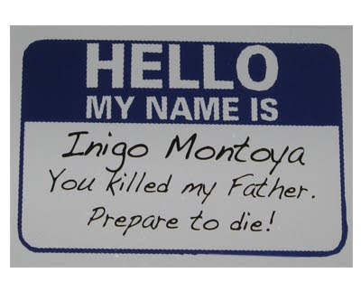 Best name tag, ever!