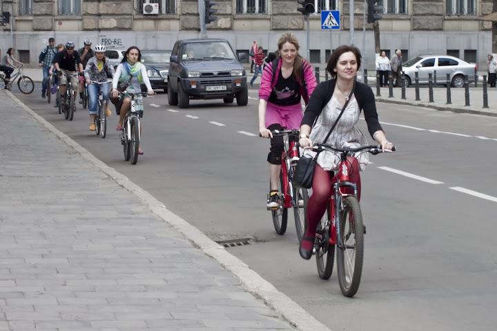 велопарад дівчат