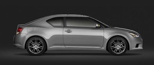 Luxury sedan Scion tC