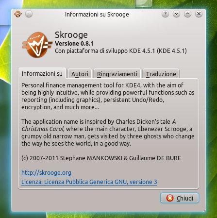 Skrooge 0.8.1