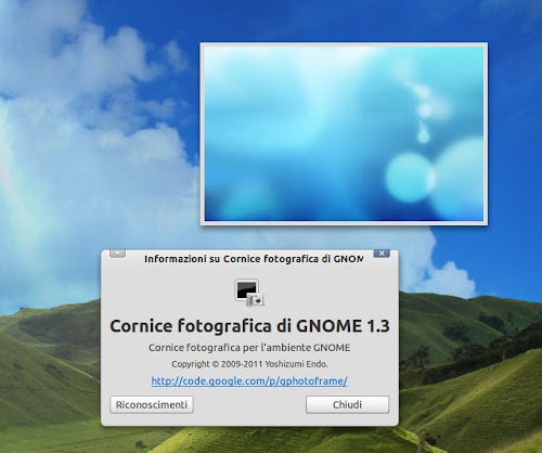 Gnome Photo Frame 1.3