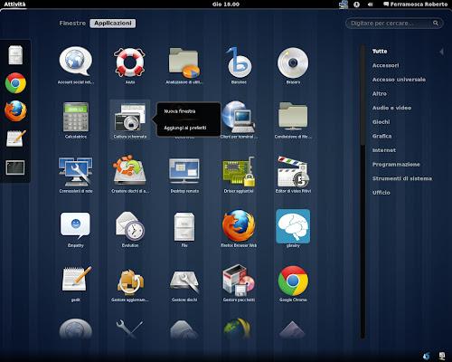 Gnome 3 su Ubuntu 11.04
