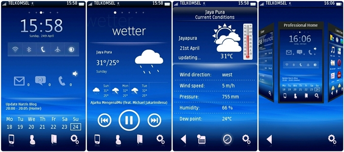 SPB Shell Theme Android 2 (Sony) meet WP 7