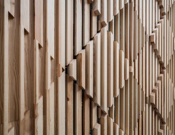 Image result for patterned interior cladding