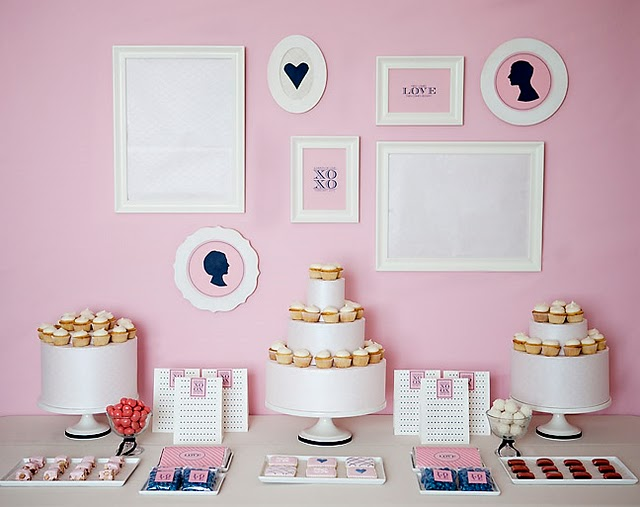 Love Preppy Dessert Table