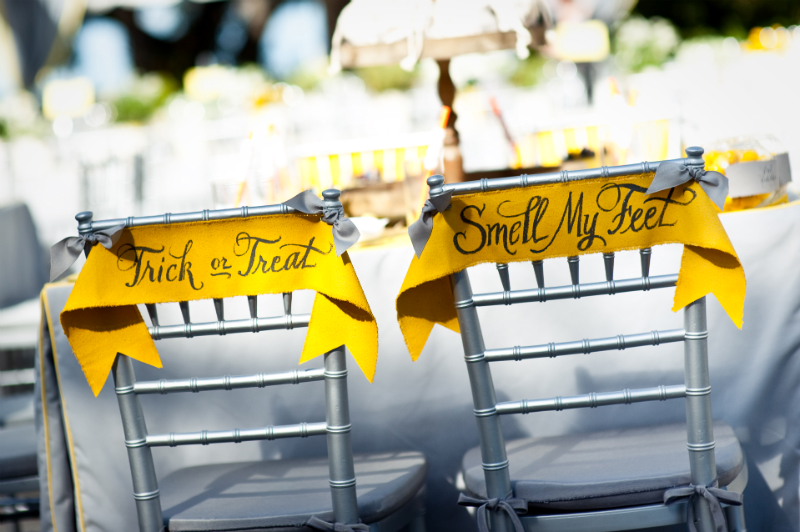 Gorgeous Rustic Halloween Wedding