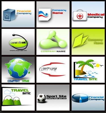 195 PSD Vector quality Logos