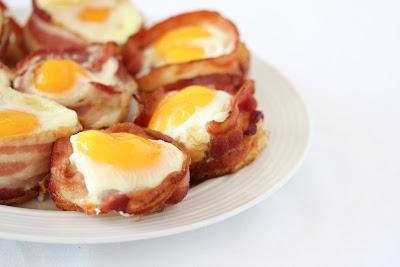 bacon egg pancake cups