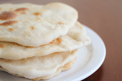 photo of naan on a plate