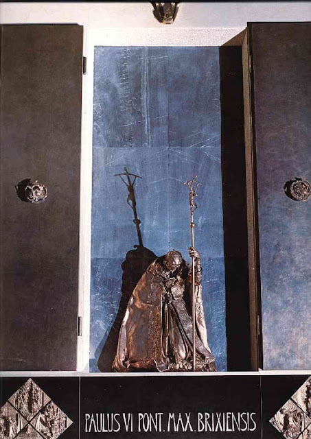 Evil monument of Brescia Cathedral