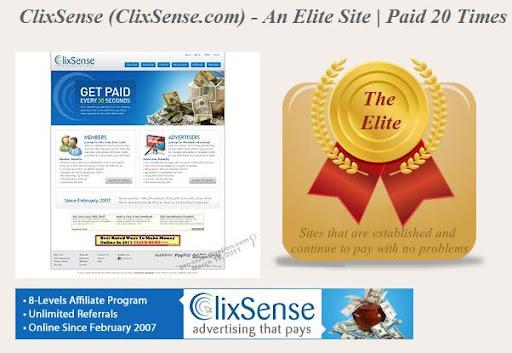 اليك اخى السر الذى لا يعرفه الجميع عن شركه ...................ClixSense Clix16