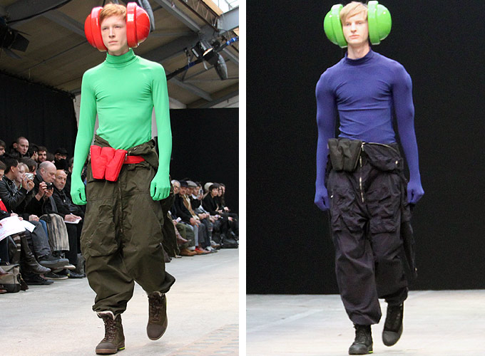 Walter Van Beirendonck + Chris&Tibor: Collaboration Bags [men's fashion]