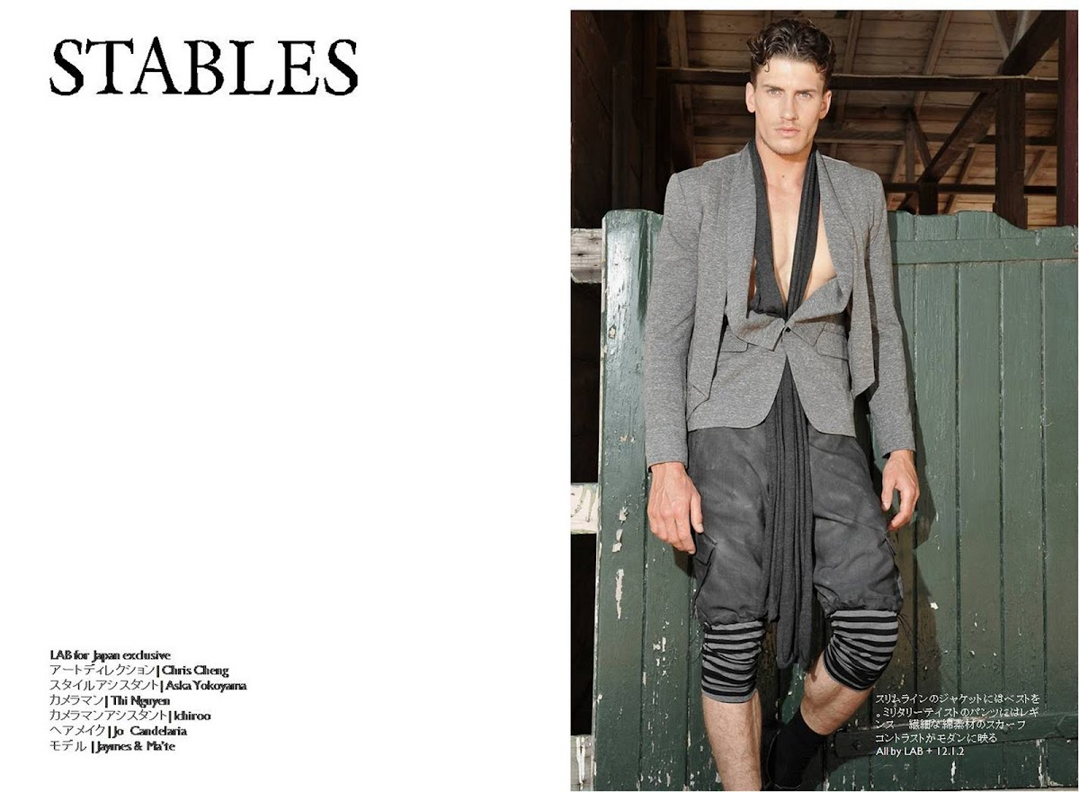 LAB & Stables: the Japanese Exclusive [men's fashion]