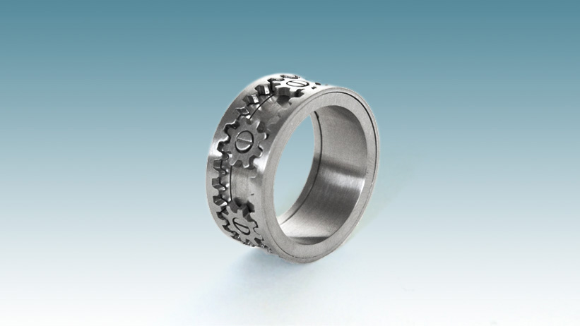 The Gear Ring that Spins, by Kinekt!