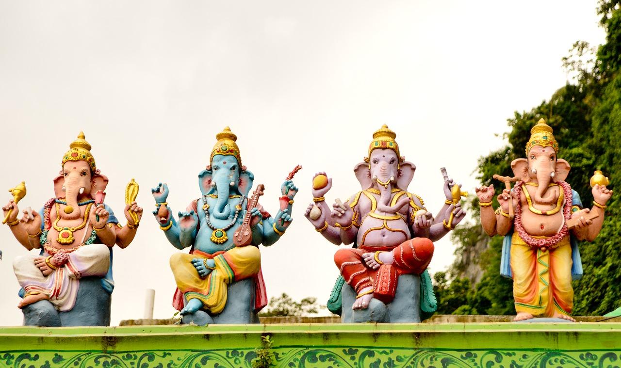 Ganesh Elephant God Statues | Religious Travel Influencers