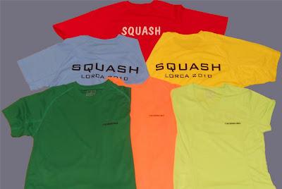 Camisetas Squash Lorca
