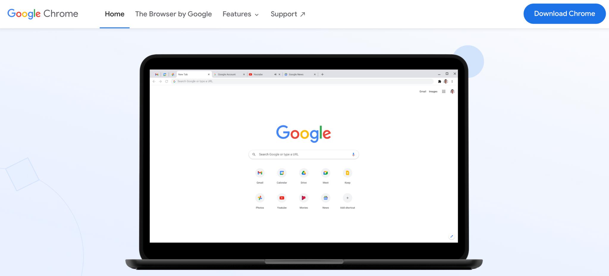 Image: Google screen