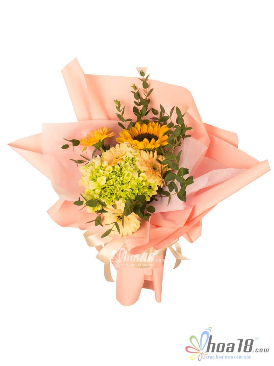 bó hoa tặng valentine đẹp