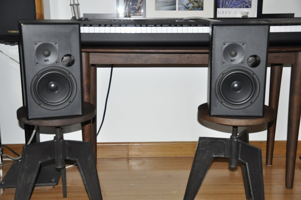 MK Bookshelf 75 Full Range Speakers Frickin Sweet