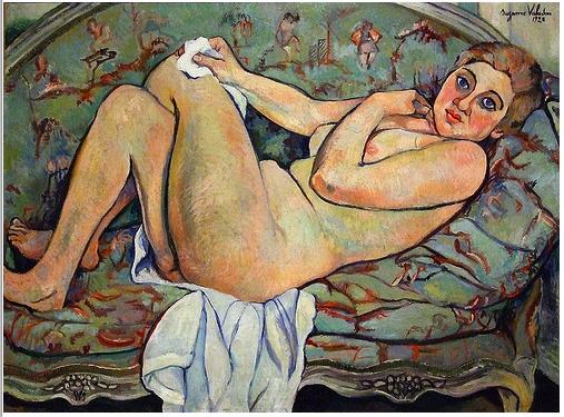 Reclining nude, 1928 - Suzanne Valadon