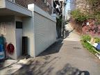 鼬坂と島崎藤村碑