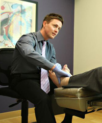 Kansas City foot specialist Dr. Andrew Hall