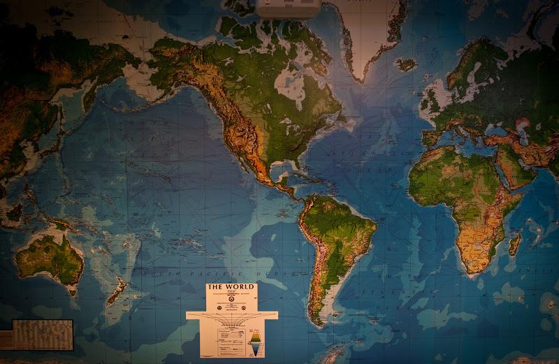 mapa amerykańska..