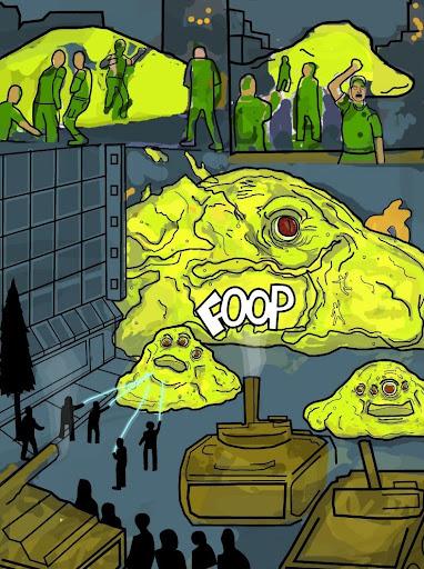 Blob Puppets
