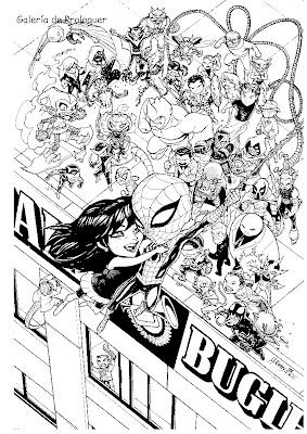 Comisión de Spiderman