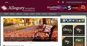 Free Wordpress Theme - Allegory