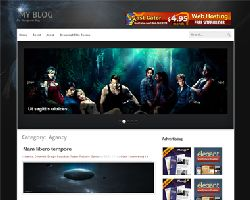 AuraBlue Premium Free WordPress Theme
