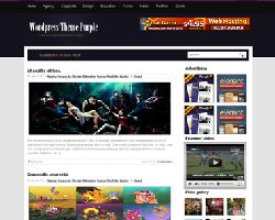 Purple Blog Theme