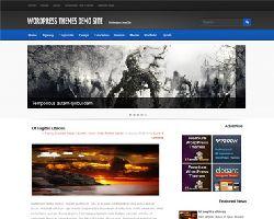 BlueMag Free Magazine wordpress Theme