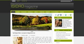Free Wordpress Theme - Isidro